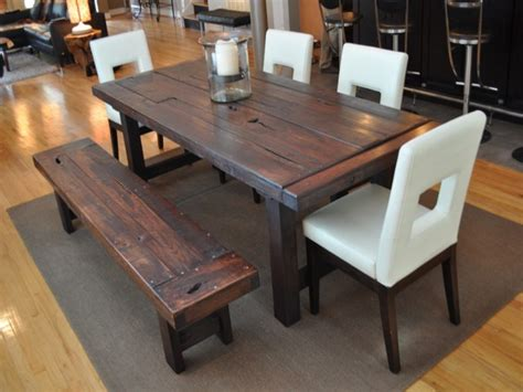 rustic dining room sets for sale rustic dining room tables for sale two toned mahogany wood