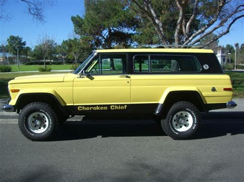 jeep chief for sale 1978 jeep cherokee chief s for sale