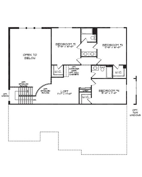 Jack And Jill Floor Plans by Dimensions For Jack And Jill Bathrooms First Floor Plan