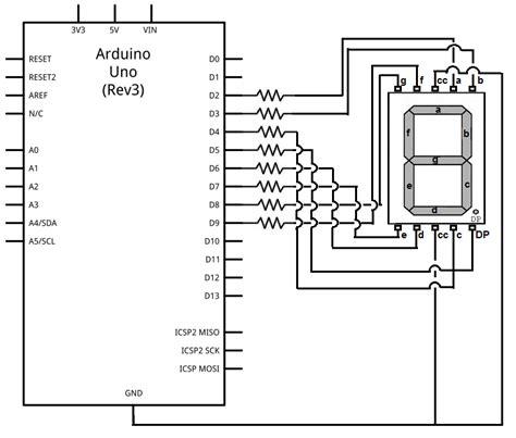 drive   segment led display   arduino