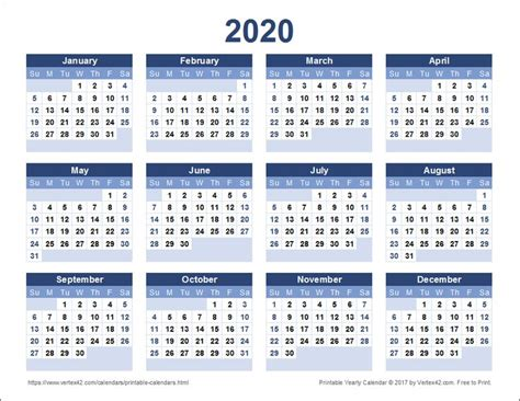 printable  yearly calendar  vertexcom  images yearly calendar