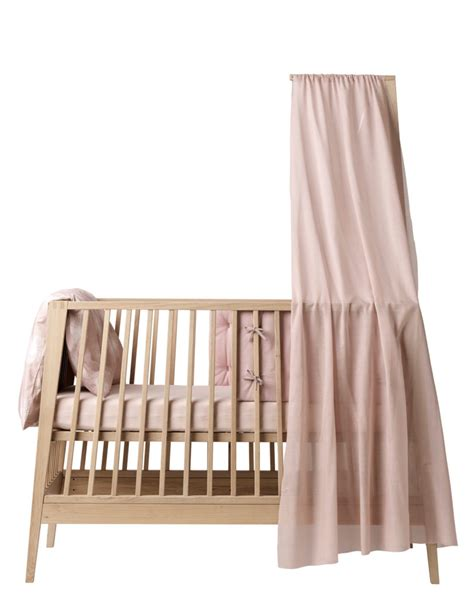 design milk baby bed leander s linea cot takes your tot from crib to sofa