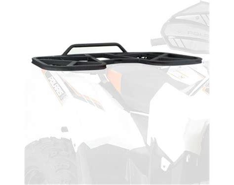 Polaris Scrambler 500 Rear Rack by Rear Rack Black Polaris Sportsman