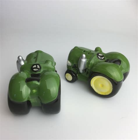 novelty salt and pepper shakers green tractor novelty salt and pepper shakers ceramic