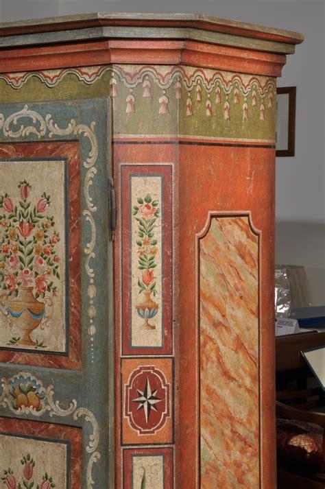 armadi dipinti armadi tirolesi dipinti val pusteria antichit evelina