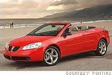 drop top pontiac g6 you sure you want a convertible aug 3 2006