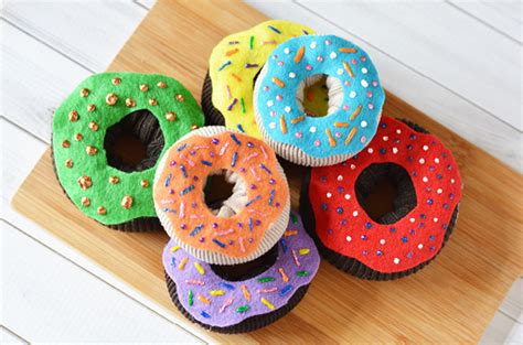 easy crafts on craft create cook crafts for easy donuts craft