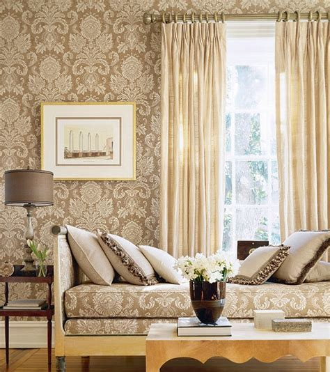 classic wallpaper room decorating ideas home