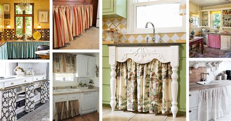 24 best kitchen cabinet curtain ideas and designs for 2018