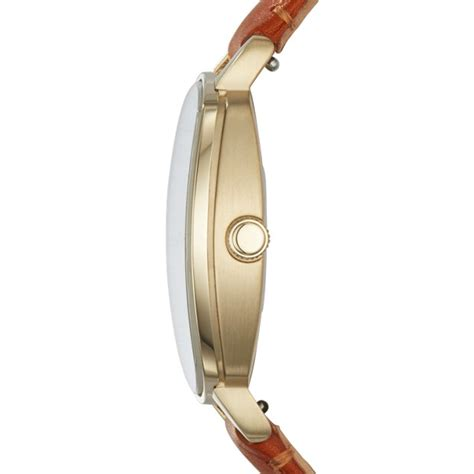 fossil idealist light brown leather watch idealist light brown leather watch fossil