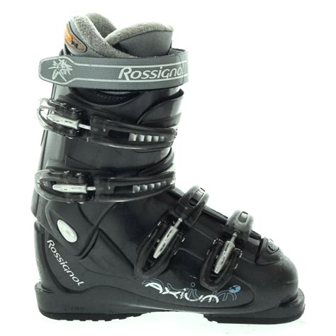 ski boot rossignol axium xw ski boots used 2006 evo outlet