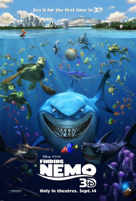 finding nemo poster dredd end of finding nemo 3d and katy perry part