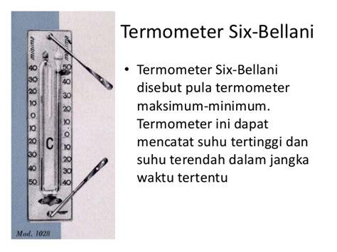 Termometer Maksimum Dan Minimum alat alat pengukur teperatur