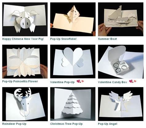 how to make pop up card templates 44 best diy greeting cards images on