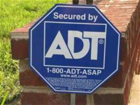 adt yard signs home