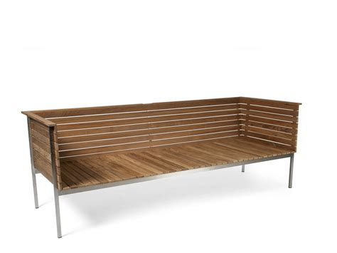 Outdoor Teak Sofa by 301 Moved Permanently