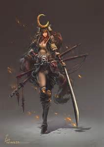 Blind Samurai Best 25 Female Samurai Ideas On Pinterest