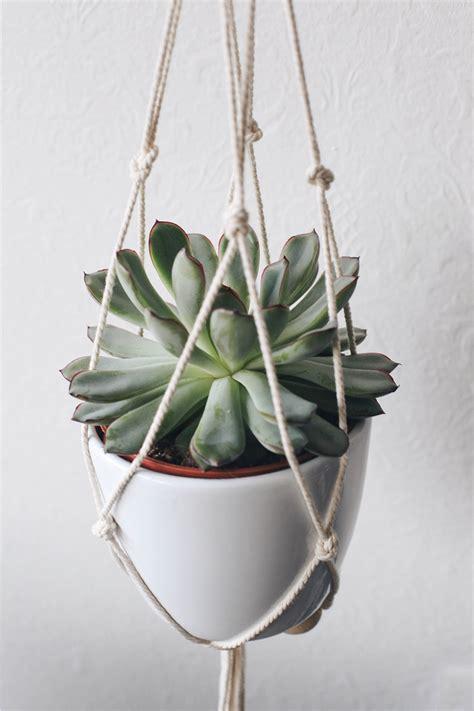 macrame plante diy suspension macram 233 pour plante moodfeather