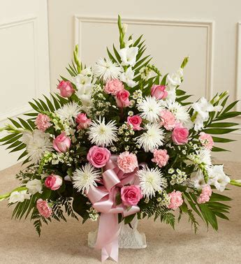 fresh greens in basket on floor of altar christmas 2013 pink and white sympathy floor basket from 1 800 flowers com