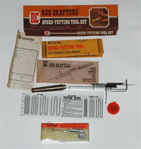 rug speed rug crafters speed tufting tool set ebay
