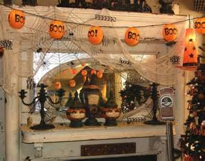Decorate Your House For Halloween Halloween Mantle Decorating Ideas
