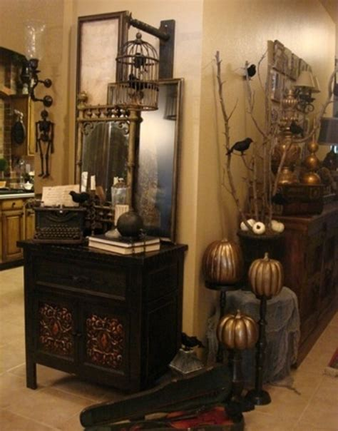 antique decorating ideas 35 beautiful vintage halloween d 233 cor ideas digsdigs