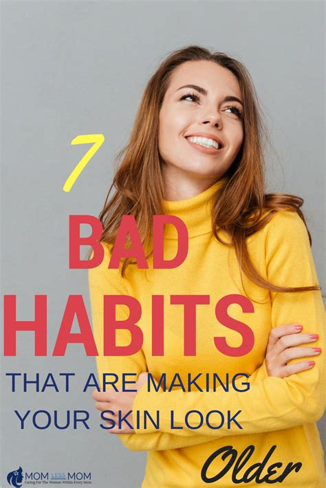 7 Bad Habits That Affect Your Skin by 7 Bad Habits That Are Your Skin Look Momless