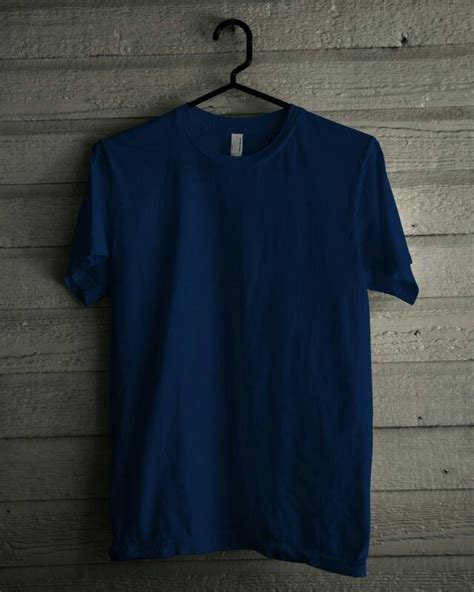 Kaos Panjang Murah Navy kaos polos cotton combed 30s murah berkualitasjual jersey