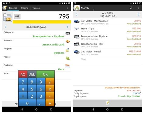 android budget app review 7 android apps that track your expenses computerworld