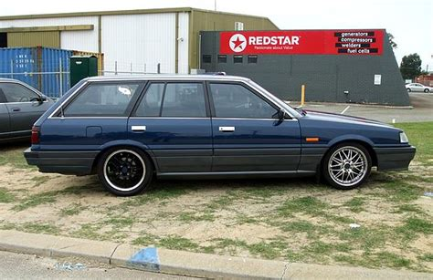 skyline wagon pin ford laser gl on pinterest