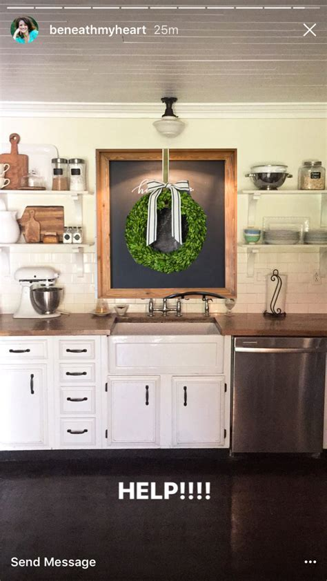 Decorating The Wall Above A Kitchen Sink With No Window