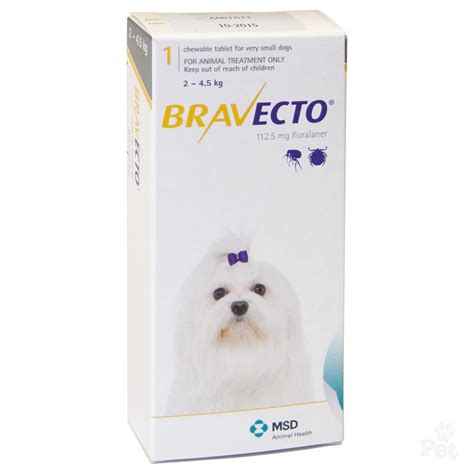 how are dogs for bravecto for dogs