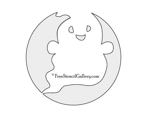 cute ghost stencil free stencil gallery