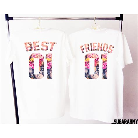 The Tshirt 01 best 01 friends 01 t shirts sugararmy