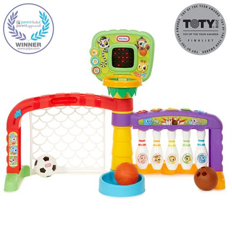Zone 3in1 3 in 1 light n go sports zone playset tikes