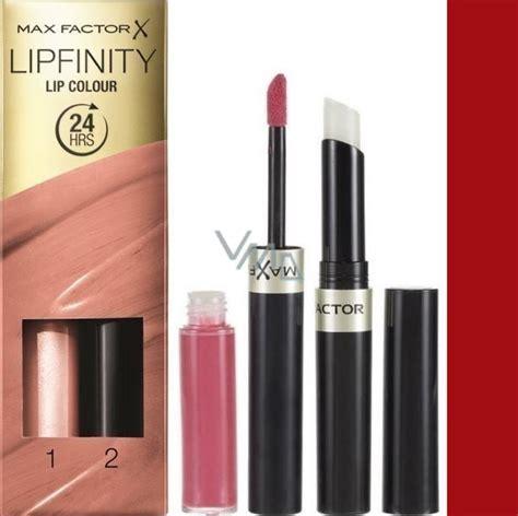 max factor lipfinity lip colour rtenka  lesk