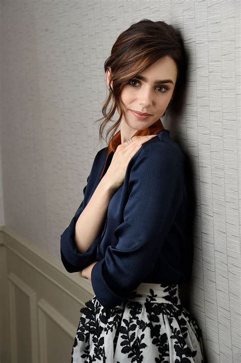 25  best ideas about Lily Collins on Pinterest   Lily collins bob, Lily collins haircut and Lily