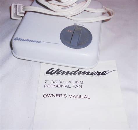 small oscillating desk fan vintage windmere small 7 quot oscillating desk fan 2 speed