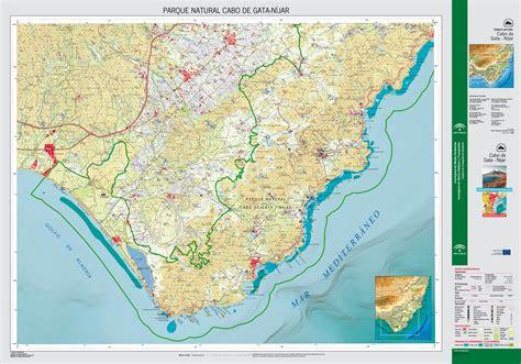 mapa parque cabo de gata parque cabo de gata n 237 jar mapas gu 237 a 1995