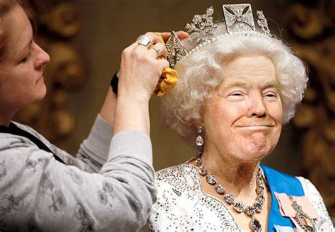 donald trump queen photoshop i have seen the whole of the internet trump s face on the
