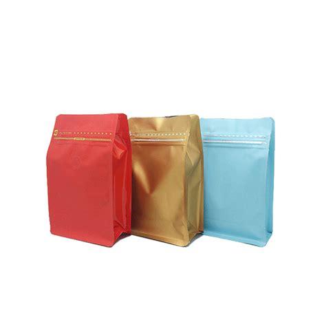 2017 block bottom polypropylene bags plastic zipper
