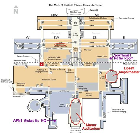 nih map for those of you without nih badges the directions to get to this site are a involved