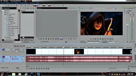 video tutorial vegas pro 11 sony vegas pro 11 tutorial quitar bandas negras