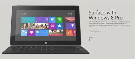 Microsoft Surface Windows 8 Pro surface with windows 8 pro european launch nears softpedia