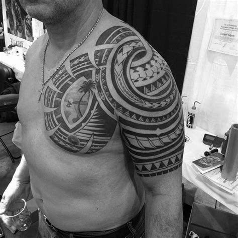 badass half sleeve tattoos for men 50 badass tribal tattoos for manly design ideas