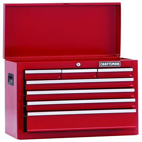 Craftsman 7 Drawer Tool Chest by Craftsman 114067 Home Series 26 Quot Wide 7 Drawer Top