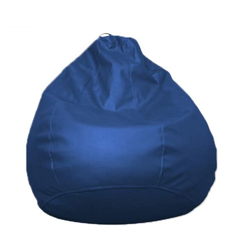 bean bag cover pebbleyard classic blue bean bag cover without beans
