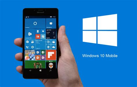 window mobile chi ha aggiornato a windows 10 mobile potr 224 sempre tornare