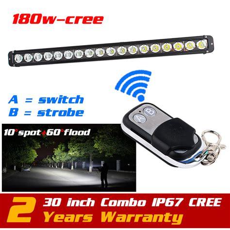 wireless led light bar aliexpress buy 30 180w cree led light bar wireless