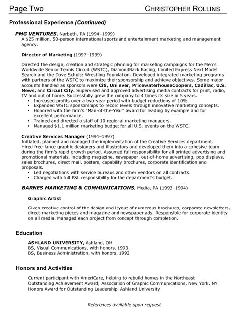 supervisor resume objective exle account supervisor